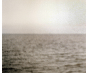 black and white and ocean image