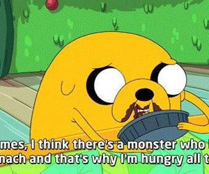 adventure time, food, and hungry image