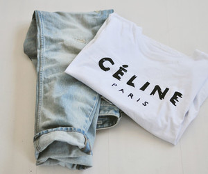 fashion, celine, and jeans image