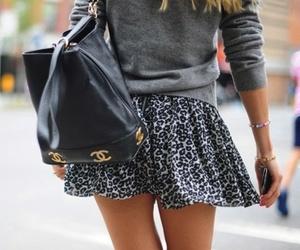 fashion, skirt, and chanel image
