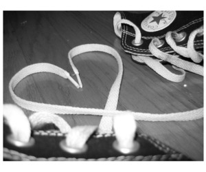 love, converse, and heart image