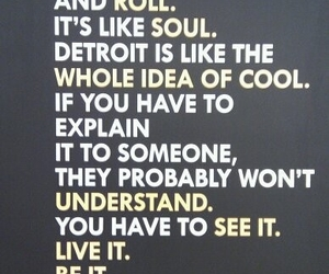 city, detroit, and poster image