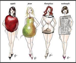 body, apple, and pear image