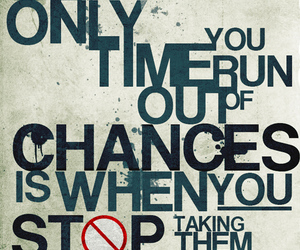 chance, quote, and text image