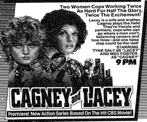 classic tv, tv shows, and cagney & lacey image