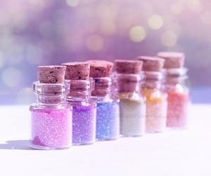 glitter, pastel, and colorful image