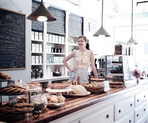 bakery, bread, and shop image
