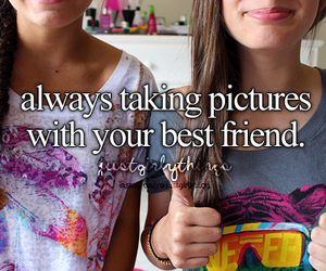 best friends, friends, and picture image