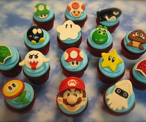 cupcake and mario image