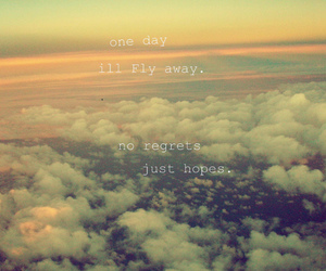 quote, sky, and hope image