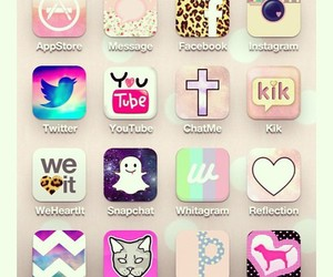 iphone, pink, and instagram image