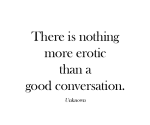 conversation and erotic image