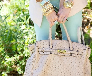 fashion, bag, and pastel image