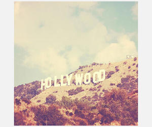 hollywood, california, and love image