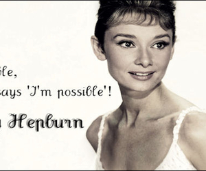 audrey hepburn, true, and impossible image