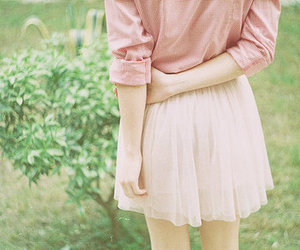 girl, pink, and photography image