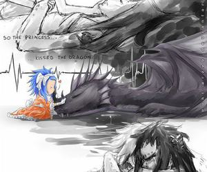 fairy tail, anime, and levy image