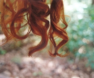curls, hair, and redhead image