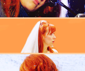 doctor who, ginger, and the doctor image