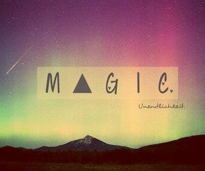galaxy, magic, and love image
