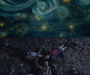 doctor who, the doctor, and van gogh image