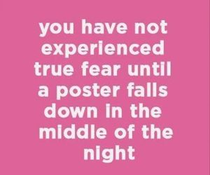 fear, poster, and funny image