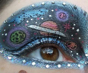 make-up, planets, and solar system image
