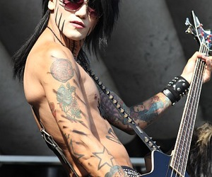 bass, ashley purdy, and black hair image