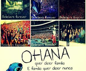 family, justin bieber, and ohana image