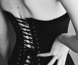 corset, girl, and Hot image