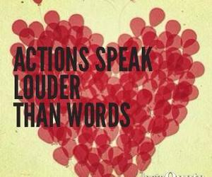 speak, words, and actions image