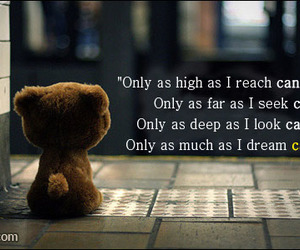 Dream, quote, and love image