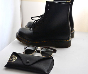 black, sexy, and dr.martens image