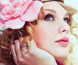 Taylor Swift, flowers, and pink image