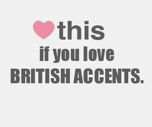 british, accent, and quotes image