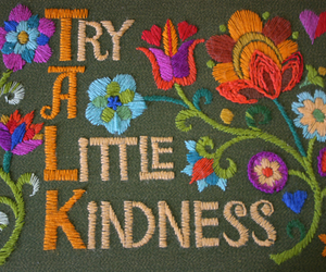flowers, quotes, and kindness image