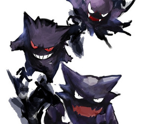 pokemon, gengar, and gastly image