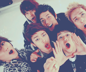 beast, cube, and k-pop image