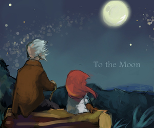 game, to the moon, and make you cry image