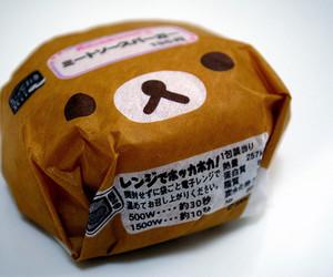 burger, rilakkuma, and food image