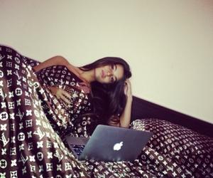 girl, apple, and luxury image