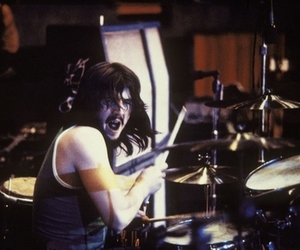 led zeppelin, drums, and john bonham image