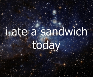 epic, space, and text image