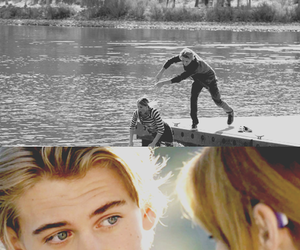 austin butler, daphne vasquez, and switched at birth image