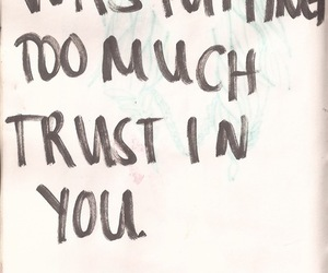 quote, trust, and mistakes image
