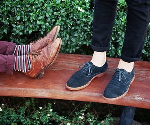 hipster, shoes, and vintage image
