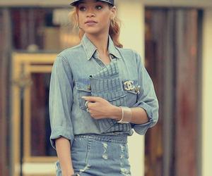 fashion, rihanna, and jeans image