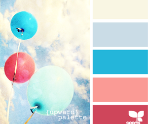 balloon and clouds image