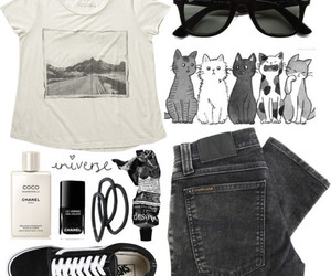 basket, glasses, and outfit image