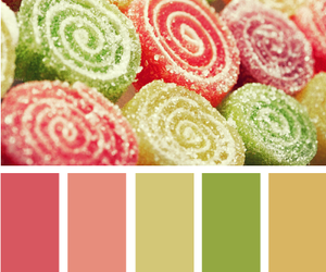 candy, pink, and rolled image